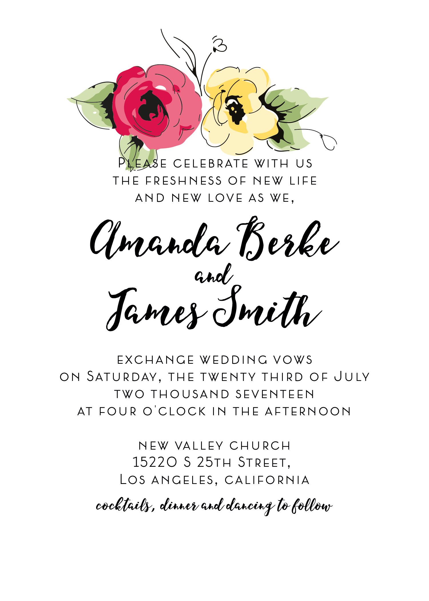 Wedding kit invitation template  2