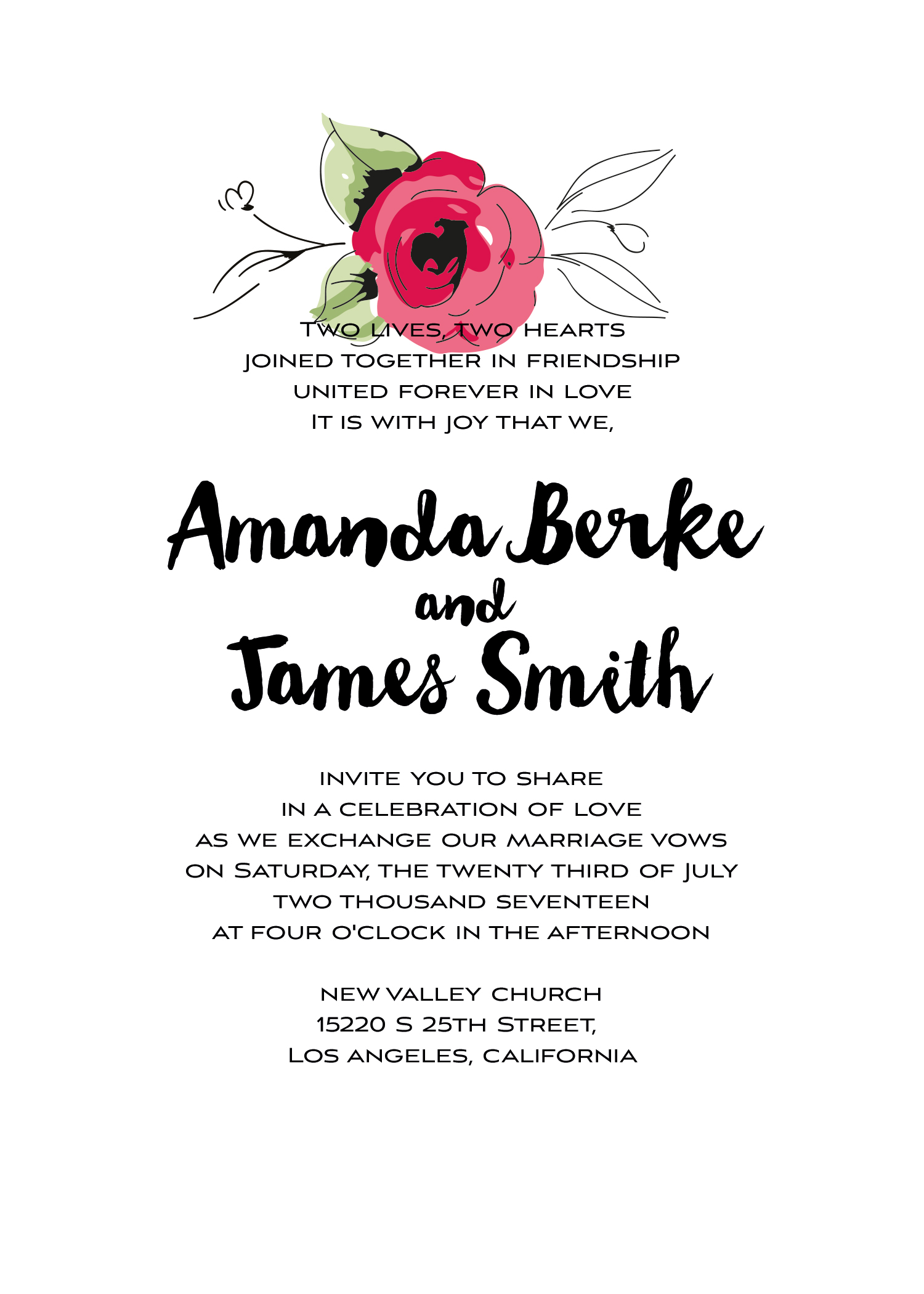 Wedding kit invitation template  3