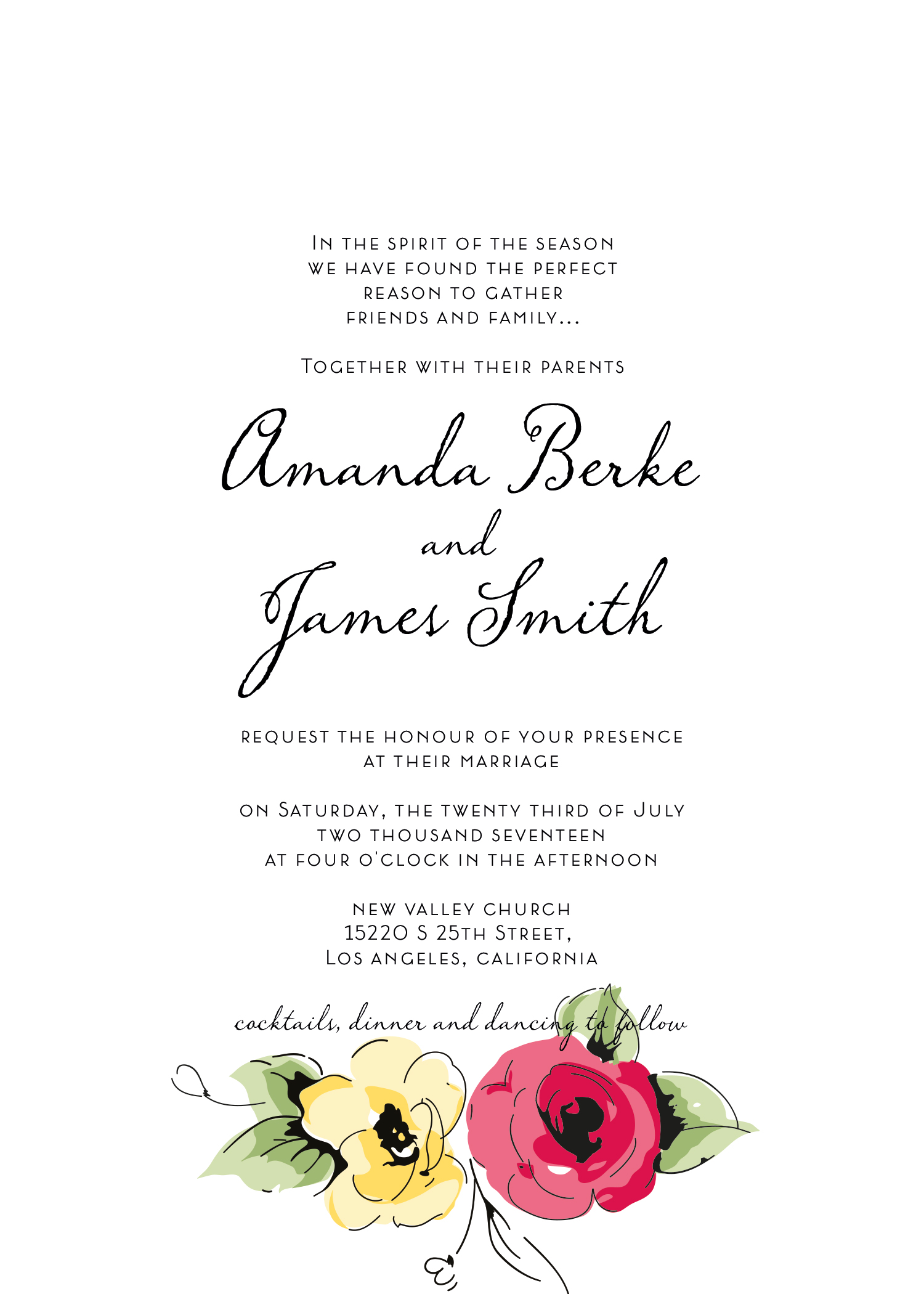Wedding kit invitation template  8