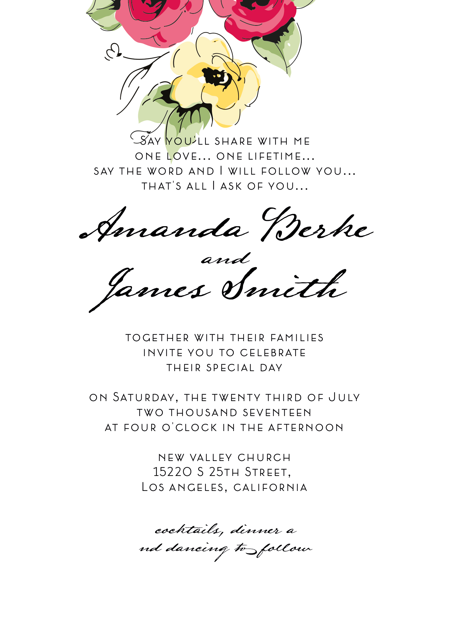 Wedding kit invitation template  10