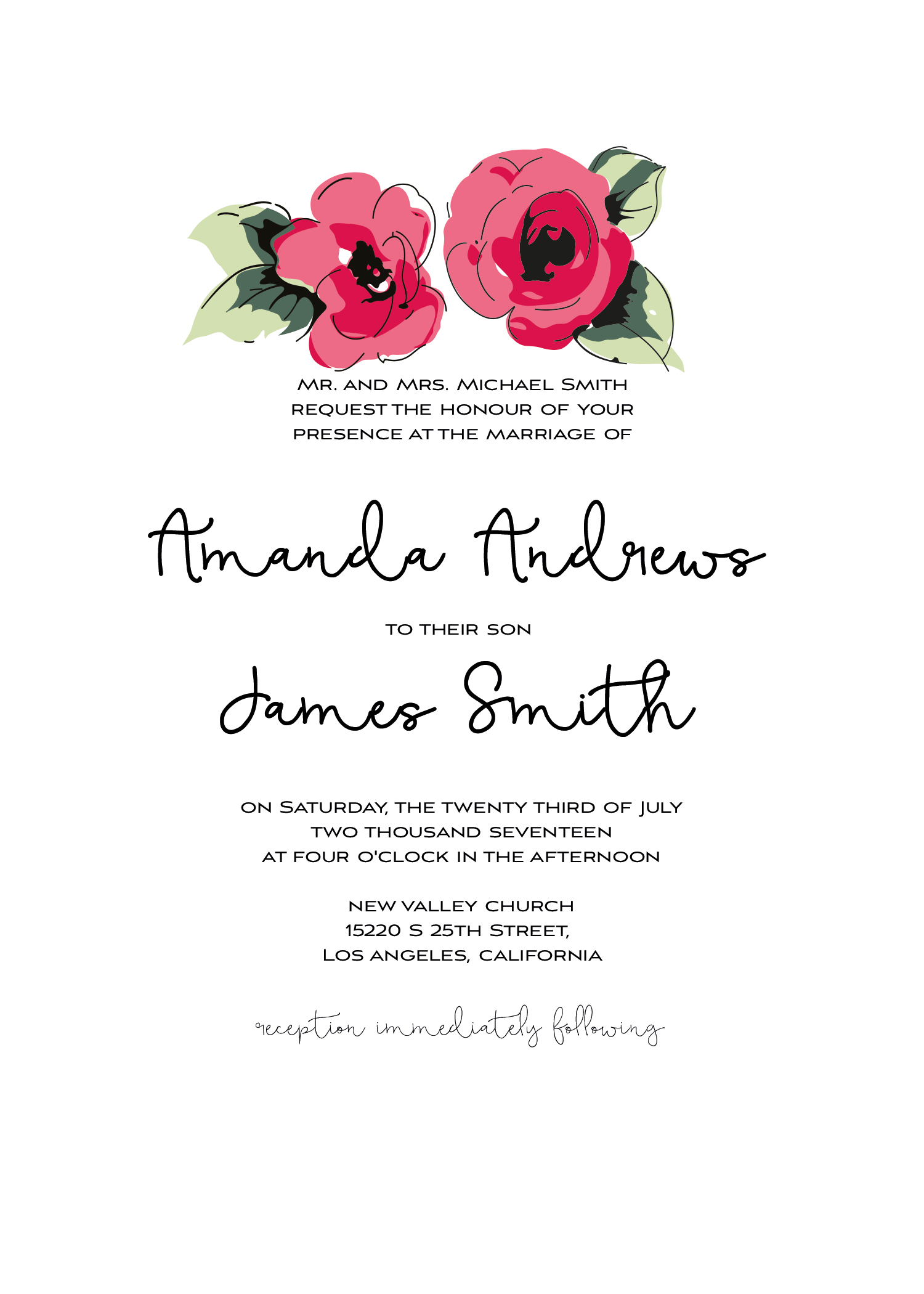 Wedding kit invitation template  13
