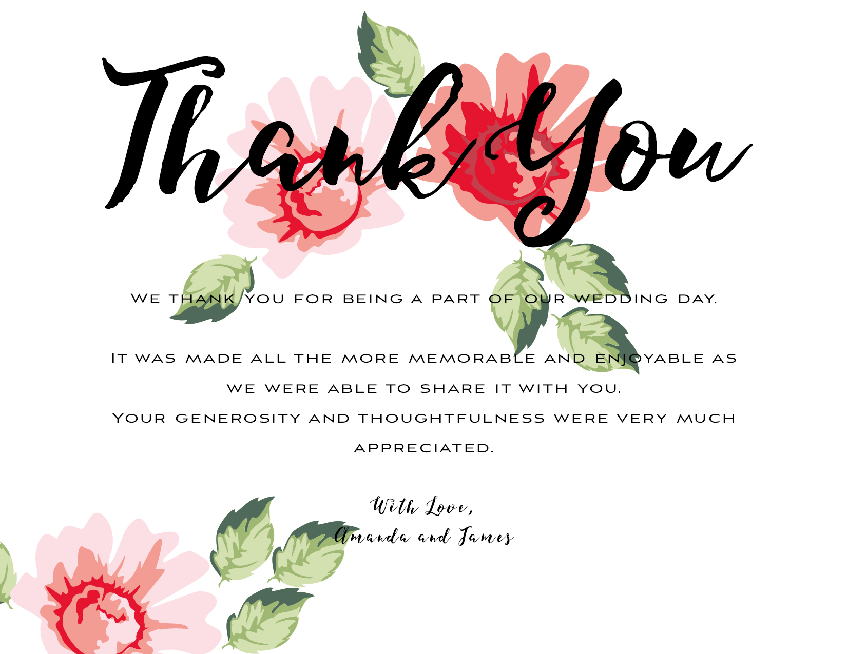 Thank you kit wedding thank you template  1